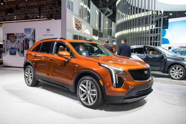 2019 Cadillac XT4, 2018 New York auto show