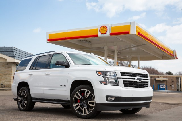 Shell gas payment in a 2018 Chevrolet