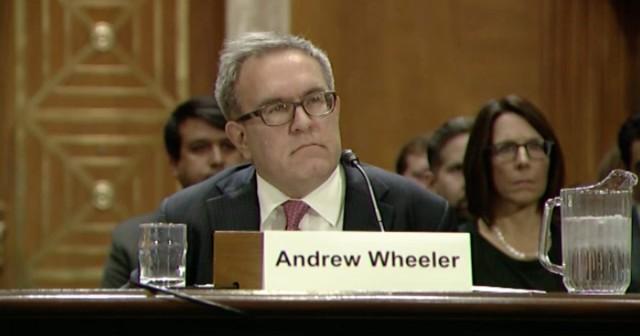 EPA Acting Administrator Andrew Wheeler