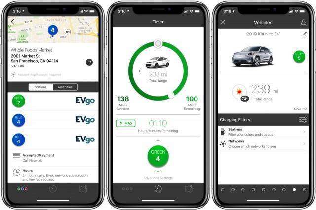 Chargeway app - February 2019