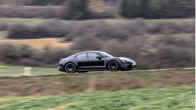 Porsche Taycan prototype