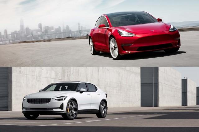 Tesla Model 3 Vs Polestar 2 How The Two Electric Cars