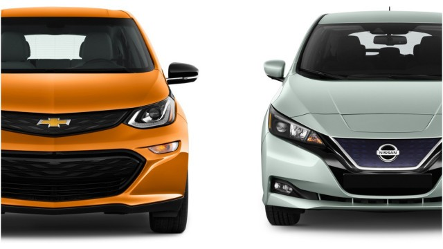 Chevy Bolt EV vs. Nissan Leaf Plus