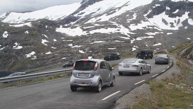 Electric vehicle rally - Ståle Frydenlund / elbil.no